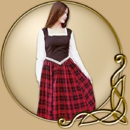 Costume - Dress with Plaid Skirt